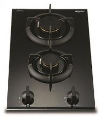 Whirlpool 惠而浦 AVK230/BT/P - 雙頭組合式氣體煮食爐(石油氣) - 優惠至12月31日止