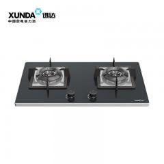 XUNDA 迅逹 2-DB1601 纖薄平板氣體雙頭煮食爐-石油氣