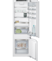 Siemens KI87SAF30K iQ500 Flush-folding hinge Built-in fridge freezer 西門子 KI87SAF30K iQ500 懸掛式門板配件 嵌入式雙門雪櫃 (下置冰格)