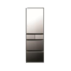 Hitachi 日立 R-HWS480KHLX 365公升 變頻式(左門鉸)五門雪櫃 (晶鑽鏡面)