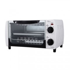 Midea MG10BAW(B) 10litres 1000W Electric Oven (Black) 美的 MG10BAW(B) 10公升 1400W 座檯式電焗爐 (黑色)