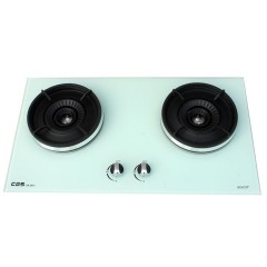 Crown CB-2801W(TG) Built-in Double Burner Town Gas Hobs 皇冠 CB-2801W(TG) 嵌入式雙頭煤氣爐