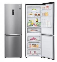 LG M341S17 341L下置式冷凍型 智能變頻式壓縮機 雙門雪櫃