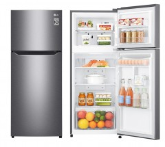 LG GN-B202SQBB 184L 上置式冷凍型 線性變頻壓縮機 雙門雪櫃