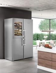 Liebherr 利勃家電 SBSes 8486 PremiumPlus BioFresh NoFrost 雙門對開式冰箱