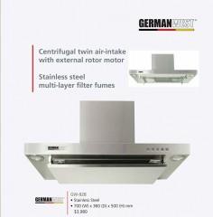 GERMANWEST 西德寶GW-928 掛牆煙導式抽油煙機 - 不銹鋼