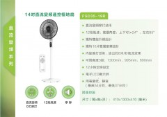 Midea 美的 FSD35-19R 14吋直流變頻遙控檯地扇