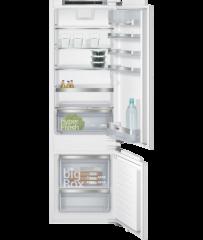 Siemens KI87SAF30K iQ500 Flush-folding hinge Built-in fridge freezer 西門子 KI87SAF30K iQ500 懸掛式門板配件 嵌入式雙門雪櫃 (下置冰格)