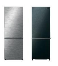 Hitachi 日立 R-B330P8H 257公升 雙門下置冰凍室雪櫃 (不銹鋼色/亮麗黑色)