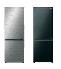 Hitachi 日立 R-B330P8HL 257公升 雙門下置冰凍室(左門鉸)雪櫃 (不銹鋼色/亮麗黑色)