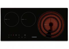 NODOR V 2170 SLBK 嵌入式電陶爐 (三爐頭 / SCHOTT® 黑色玻璃 / 70cm) ( 照價再減 )